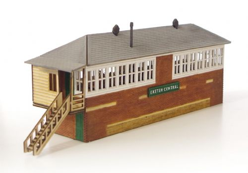 ARCH Laser AL00-020 Arch Laser : Southern Region Signal Box Kit (based on Exeter Central) OO Gauge